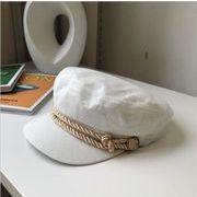 帽子 ハット ベレー帽 レディース レトロ 韓国風 イギリス風 オシャレ レース