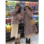 アンティーク調 森 省 ルース コットンコート 女 秋冬 新しいデザイン ファッション