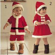 クリスマス★2019★韓国風★ベビー赤ちゃん★キッズ男女★服装+帽子★2点セット★80cm-100cm