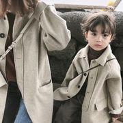 韓国子供服  裹ボア 女の子 キッズ  アウター 子供用 トップス 冬服 ジャケット