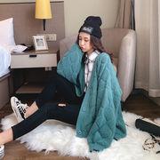 ジャケット ニット Vネック セーター 2019秋冬新作 ファッション u15672 レディース 動画あり