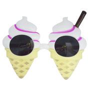【デザイン変更】ファニーグラス アイスクリーム 【 面白サングラス 】