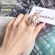 リング 指輪  アクセサリー ファッション セレブ レディース  パール