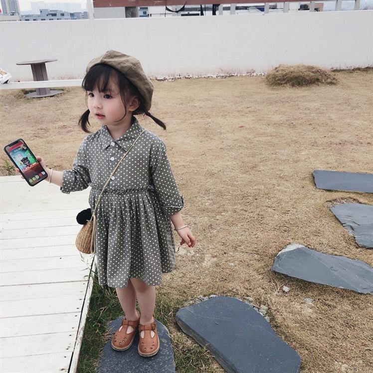 冬新発売 キッズファッション 子供服  ワンピース 女の子