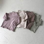 爆買い★♪男女兼用★♪ハイネックtシャツ★♪子供シャツ★♪可愛い★♪長袖のトップス★♪♪♪