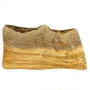オリーブ木 まな板(カッティングボード) NATURAL 36CM 穴なし