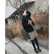 ファッション 秋冬 気質 小さな妖精  香港フレーバー 小さい新鮮な ウールコート  短いスタイル  コート