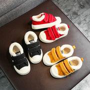 児童 布 靴 二 コットン靴 女児 ふわふわシューズ 男児 靴 ウインター ウインター