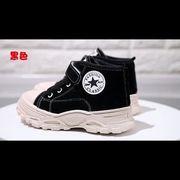 女児 スポーツシューズ ウインター 中 大 子供 靴 新しいデザイン 厚さプラス ウイン