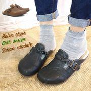 【再販売】【再入荷】サボ靴 フラットシューズ レディース ベルト