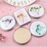 持ちやすい美しいミラー★★LIVEWORKのコンパクトミラー★化粧鏡★手鏡★割れない★プレゼント
