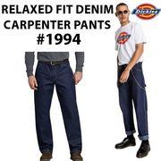 【DICKIES】(ディッキーズ) USA企画 DENIM CARPENTER PANTS / カーペンター デニム パンツ