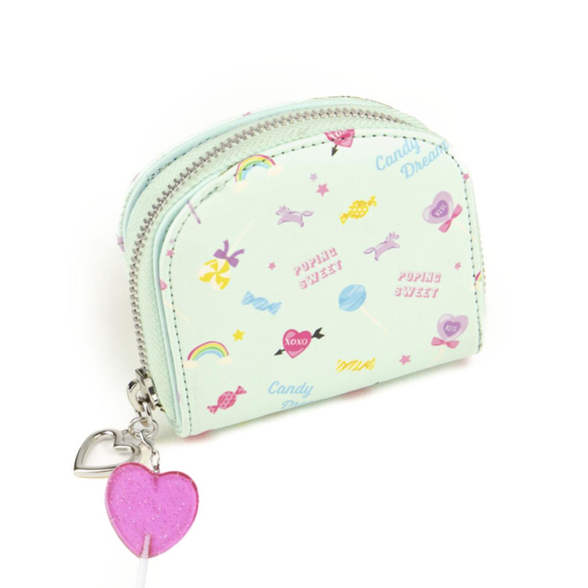キャンディ 二つ折り財布 ラウンドミニ財布 [ロリポップ] / 女の子 キッズ