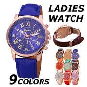 腕時計 レディース 安い おしゃれ ブランド 革 黒 シンプル きれいめ 大人 時計 ウォッチ