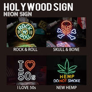 【HOLLYWOOD SIGN】NEON SIGN ネオンサイン【NEW HEMP 他】