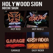 【HOLLYWOOD SIGN】NEON SIGN ネオンサイン【HOT ROD 他】