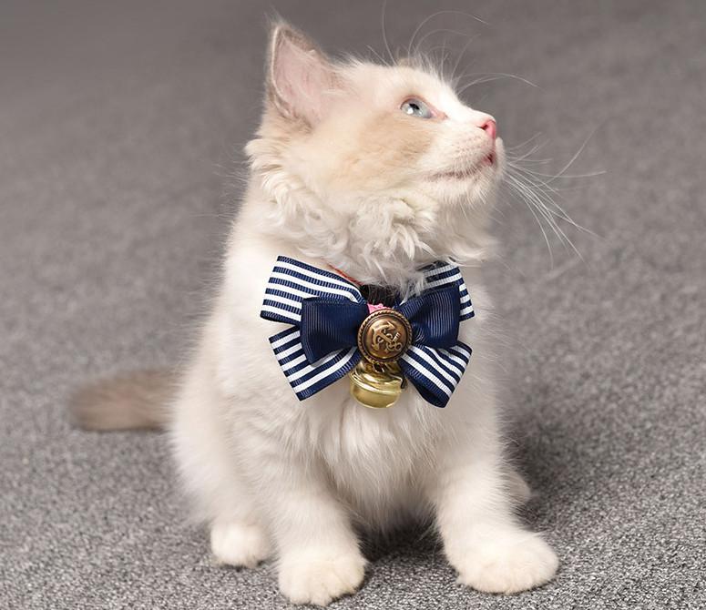 猫用犬用 ペット用品 リボン蝶ネクタイ中型犬 小型犬 4色