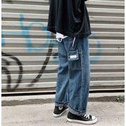 2020年 メンズ ボトムス ズボン パンツ デニム ゆったり ストリート レトロ