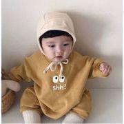 春新作★韓国型★キッズ服装 ロンパース 帽子付き 長袖