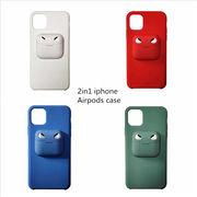 2in1 iphone&Airpods case スマホケース iPhoneケース iPhone11ケース iPhone11proケース iPhone11pro