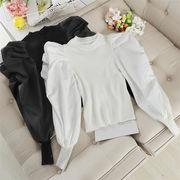 限定SALE!INSスタイル スリム ファッション エレガント 短いスタイル 百掛け 韓国 トップス