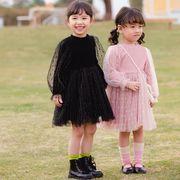 赤ちゃん チュチュ 子供服 ワンピース 子供服 キッズ ベビー 韓国ファッション 長袖