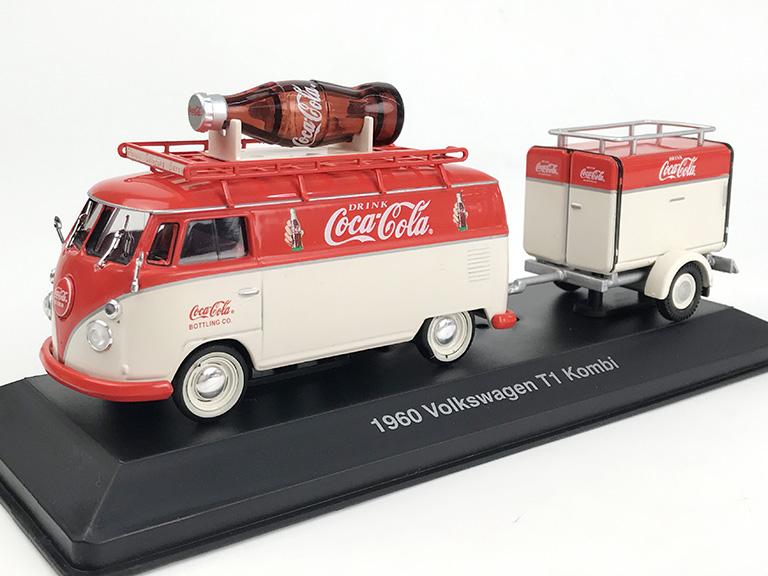 MOTORCITY CLASSICS VW コンビ T1 1960 トレーラ付