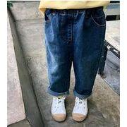新作★春秋新品★子供服★女の子★可愛い★ジーンズ★7-15