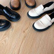 イングランド 小さな靴 新しいデザイン 春 フラット 靴 女 アンティーク調 何でも似合
