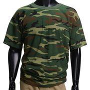 Rothco Tシャツ 半袖 ウッドランドカモ 6779