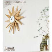 ウォールクロック 掛時計 フェルマー