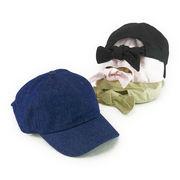 ツイルバックリボンローキャップ ヤング帽子