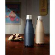 スタイリッシュ真空ステンレスボトル1本 /ノベルティ 保温 保冷 真空 ステンレス ボトル