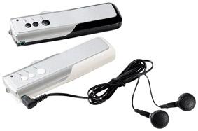 ワイドFM対応ライト付FMポケットラジオ