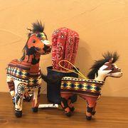 ネイティブホース アメリカン ココペリドール 馬