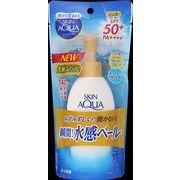 スキンアクア スーパーモイスチャージェル ポンプ 140g 【 ロート製薬 】 【 UV・日焼け止め 】