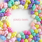 (100g)ゆめかわパステルカラービーズ 全2種類 ミックスカラー /beads749-750