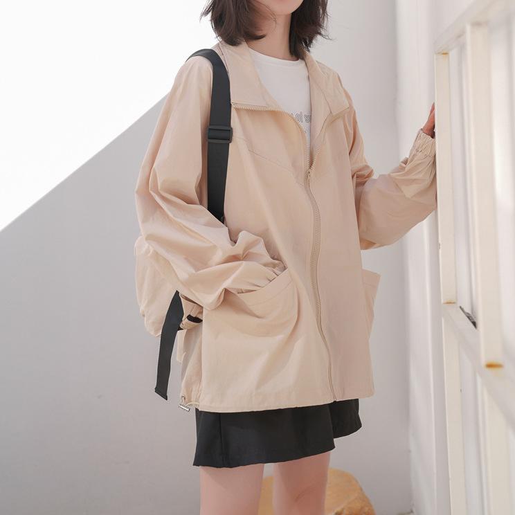 2020年春夏新作 レディース スプリングコート  アウター   薄手 おしゃれ ゆったりビッグサイズ