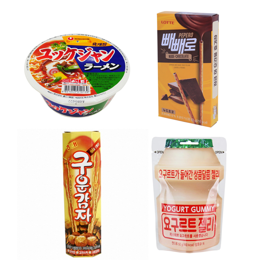 韓国食品 お得マシソヨセットE お菓子 韓国のり アソート