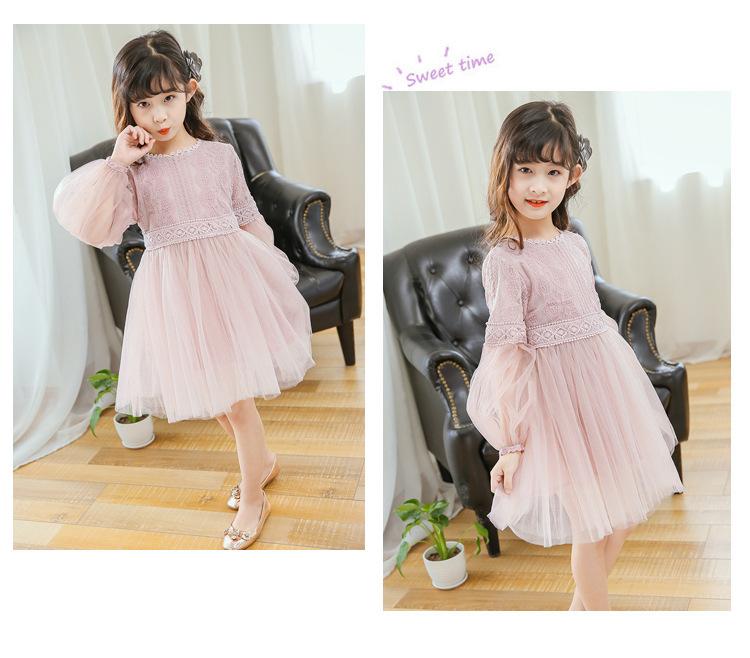韓国ファッション 韓国子供服 ワンピース 2020春夏新作 子供服 リネン綿 100-160 2色
