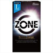 ZONE ゾーン Largeサイズ 6個入 【 ジェクス 】 【 コンドーム 】