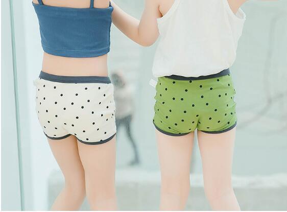 韓国ファッション レディース 女 子供 下着 可愛い パンツ 6色 90-135CM