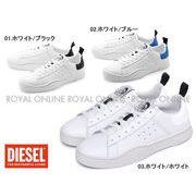 S) 【ディーゼル】 スニーカー Y01748-P1729 S-CLEVER LOW シューズ 靴 全3色 メンズ
