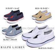 S) 【ポロ ラルフローレン】 スリッポン BAL HARBOUR III 靴 シューズ アウトドア 全4色 キッズ ベビー