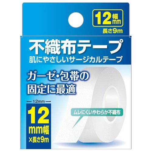 CareFast ケアフアスト 不織布テープ 12mm×9m