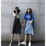 【海外買付】人気デニムv-pcc1002-3665【2020春夏新作】レディース/スカート/シンプル/シック