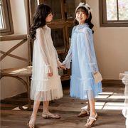 ワンピース 長袖 プリンセス キッズ 女の子 韓国子供服 2020新作 SALE ファッション 動画ありm14813