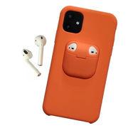 2020 iPhone 11/11pro/11pro Max ケース カバーイヤホンケース シリコン シンプル ベーシック アイフォン