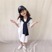 Tシャツ 短袖 夏 ワンピース プリンセス キッズ 韓国子供服 2020新作 SALE ファッション