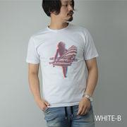 2020新作 半袖Tシャツ メンズ ガールプリント 3Dプリント クルーネック 丸首 Tシャツ メンズ カットソー